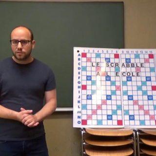 Le Scrabble à l'école