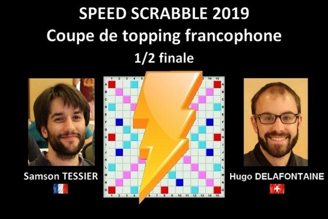 Speed Scrabble – Suivez le match d'Hugo Delafontaine ce soir à 21h00