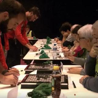 Tentative de record du monde de Scrabble